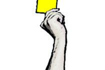 Gelbe Karte für Qatar